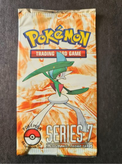 Pop Series 7 Sealed Booster Pack Pokemon TCG Trading Card Game Gallade Organised Play