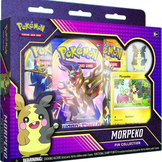 Morpeko Pin Collection Sealed Box - Pokemon TCG (Pin Badge)
