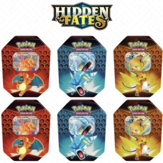 Hidden-Fates-Sealed-Tin-Gyarados-Charizard-Raichu-Case-6-Pokemon-TCG-Cards