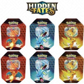 Hidden-Fates-Sealed-Tin-Gyarados-Charizard-Raichu-Case-6-Pokemon-TCG-Cards