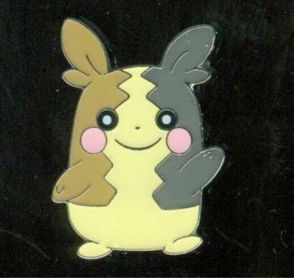 Morpeko Official Metal Pokemon Pin Badge (Morpeko Pin Collection)