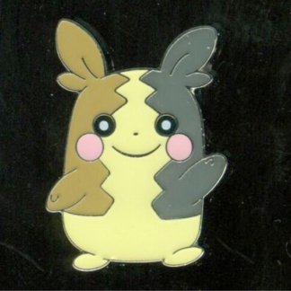 Morpeko Official Metal Pokemon Pin Badge (Morpeko Pin Collection)