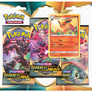 Pokemon-TCG-Darkness-Ablaze-3-Pack-Triple-Blister-Flareon-Promo