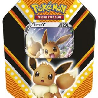 Pokemon TCG: V Powers Sealed Tin Eternatus V Promo