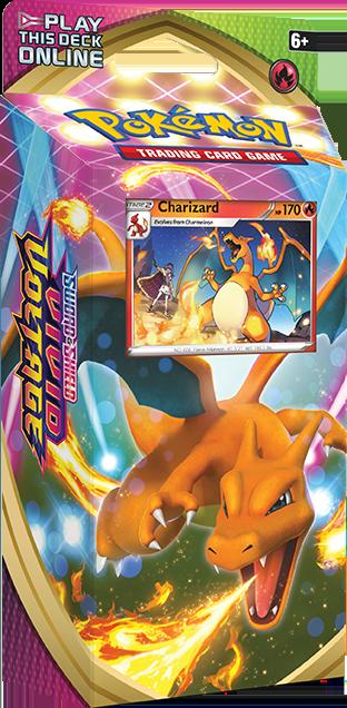 Charizard Theme Deck Pokemon TCG Cards Vivid Voltage
