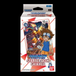 Digimon Card Game: Starter Deck Gaia Red Tai