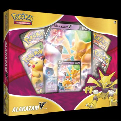 Alakazam V Box Pokemon Sword Shield 2021 Collection