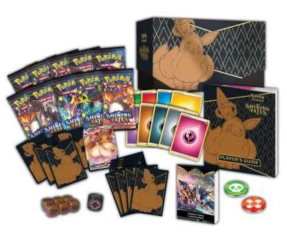 Eevee-VMAX-Promo-Elite-Trainer-Box-ETB-Shining-Fates-February-2021-Pokemon-TCG-Cards - Contents
