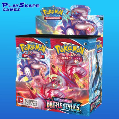 Pokemon-TCG-Cards-Sword-Shield-5-2021-Battle-Styles-Booster-Box-Packs-Display