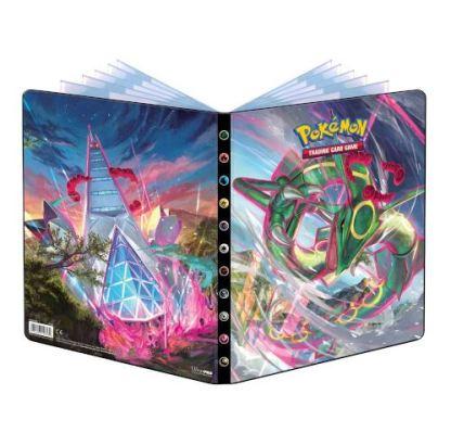 Evolving-Skies-9-Pocket-Binder-Folder-Pokemon-TCG-Cards-Rayquaza