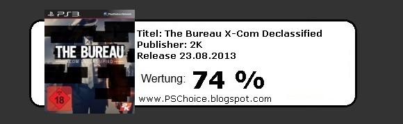 The Bureau X-Com Declassified - Die BEwertung von Playstation Choice - It´s your Choice