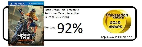 Urban Trial Freestyle - Die Wertung von Playstation Choice