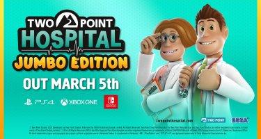 Two Point Hospital – március elején érkezik a JUMBO Edition