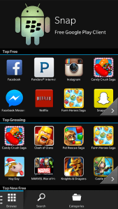 Google Play Store Download for BlackBerry