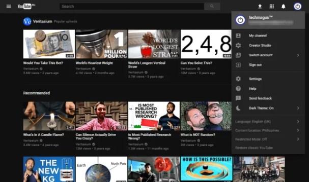 YouTube App for PC
