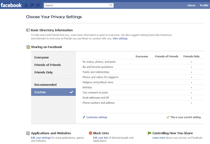 Facebook for PC