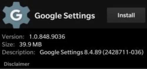 Google Play Store for BlackBerry