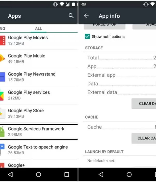 Click Google Service Framework