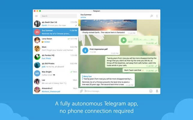 telegram download for mac