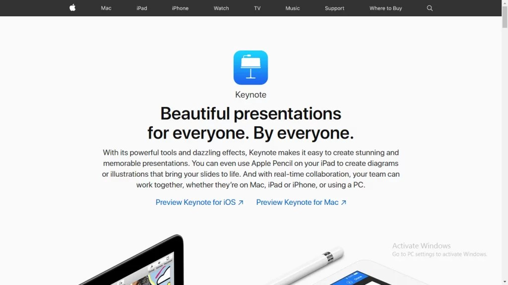 Keynote for Mac