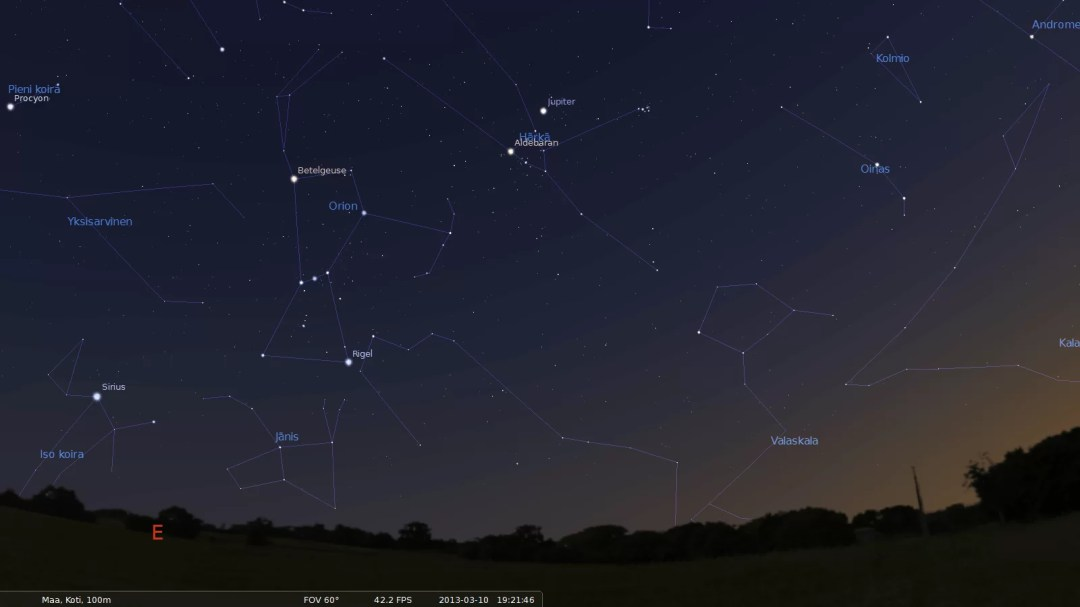 Stellarium for Mac