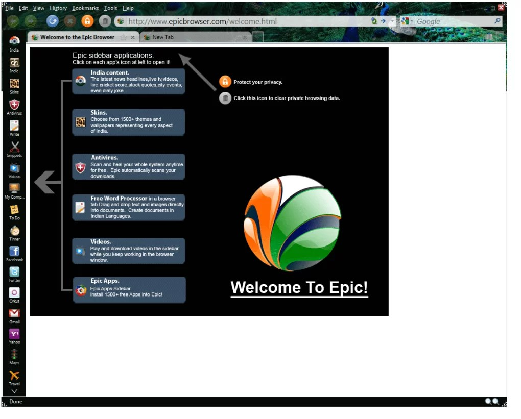 Epic Browser for Mac