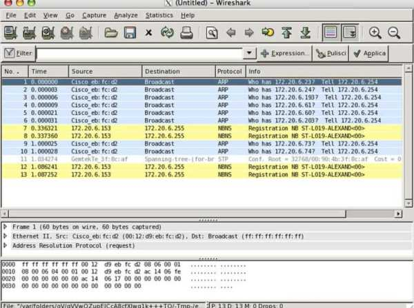 Wireshark for Mac