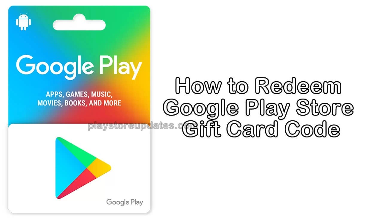 How to redeem google play card