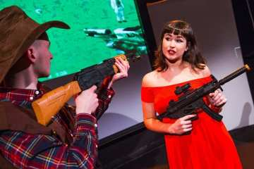 A Girl and A Gun Camdes People's Theatre