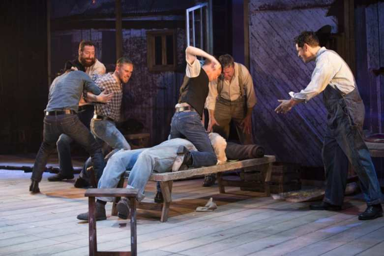 Of Mice And Men Birmingham Repertory