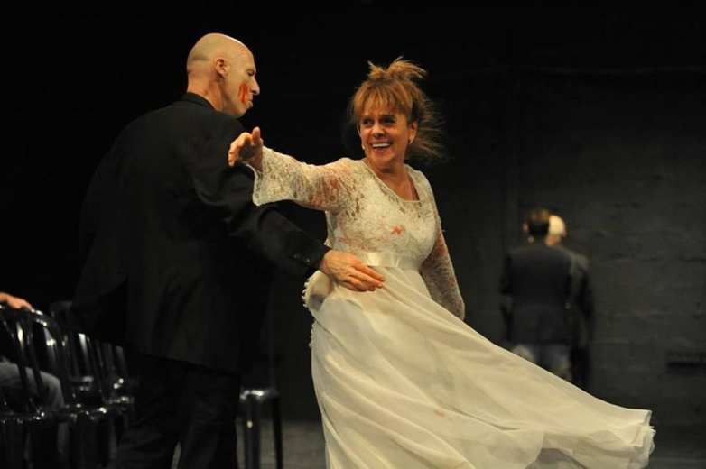 HamletMachine by Tmuna Theatre, Israel at Gdański Teatr Szekspirowski