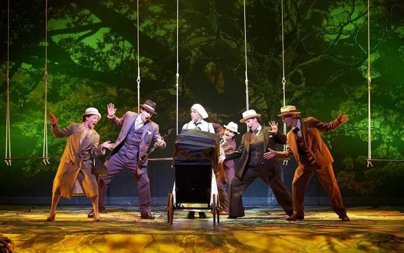 Peter Pan In Scarlet at Oxford Playhouse. Photo Geraint Lewis