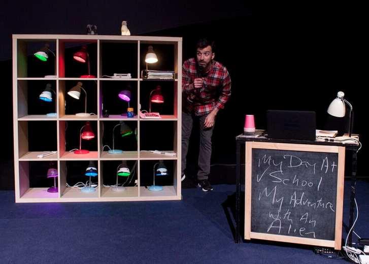How to Keep An Alien at Irish Arts Center Photo Credit Ger Holland