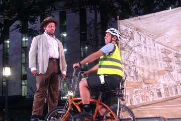 Measure for measure at Bryant Park NYC