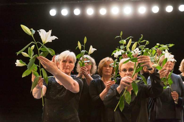 The Suppliant Women Royal Lyceum Theatre Edinburgh