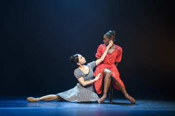 Ballet Black Cristaux _To Begin, Begin_ Storyville Photo Bill Cooper