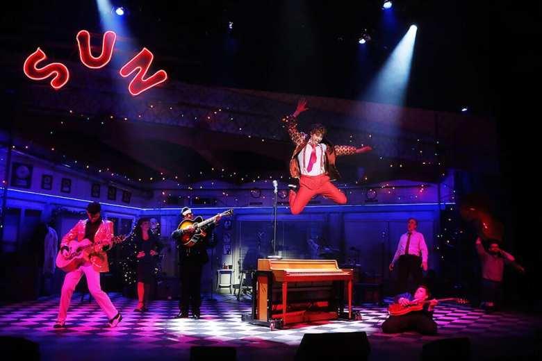 Million Dollar Quartet Casa Mañana Theatre, Fort Worth, Texas
