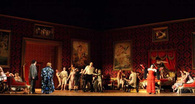 ROH Der Rosenkavalier 2016. © ROH. Photograph Catherine Ashmore