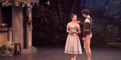 English National Ballet Giselle. Photo © Laurent Liotardo
