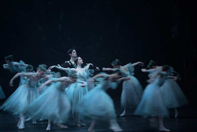 English National Ballet Giselle. Photo © Laurent Liotardo