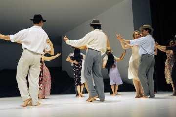 Masurca Fogo, Pina Bausch's Tanztheater Wuppertal. Photo credit Zerrin Aydin-Herwegh
