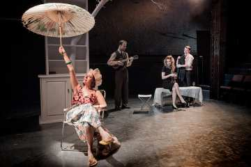 The Cherry Orchard Arcola Theatre. Photograph Robert Workman