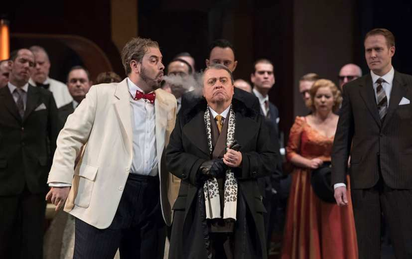 ENO Rigoletto. Photo Alastair Muir