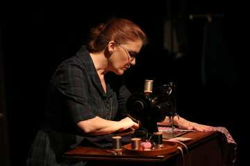 The Dressmaker's Secret, 59E59. Photo by Carol Rosegg