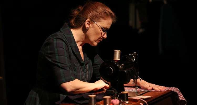 The Dressmaker's Secret, 59E59. Photo by Carol Rosegg