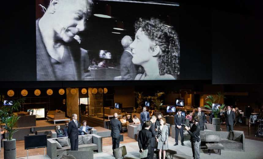 Roman Tragedies by Toneelgroep Amsterdam, Barbican Centre. Photo Jan Versweyveld