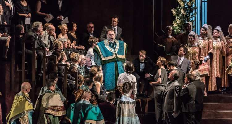 Die Meistersinger von Nürnberg The Royal Opera © 2017 ROH. Photograph by Clive Barda