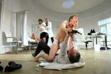 What the Butler Saw, Curve Theatre Leicester
