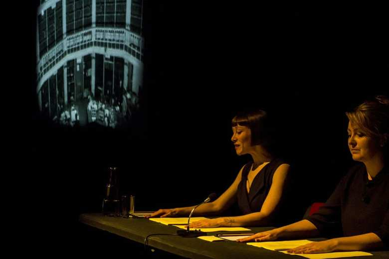 A Machine They're Secretly Building by Proto-Type Theatre. Photo Fenia Kotsopoulou
