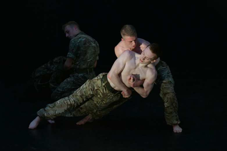 5 Soldiers - The Body is the Frontline Creator and Choreographer Rosie Kay
